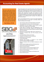 Sbg Accountants Real Estate