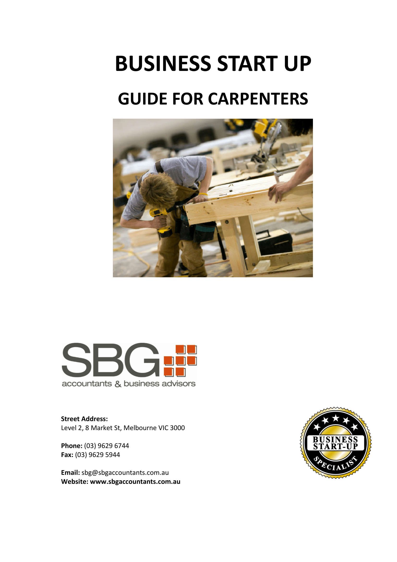 SBG Accountants - Carpenters